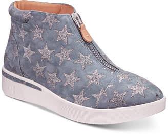 Gentle Souls by Kenneth Cole Women Hazel-Fay High-Top Wedge Sneakers Women Shoes