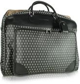 Moreschi Black Logo Garment Travel Bag