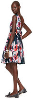 Kate Spade Hazy floral bow back dress