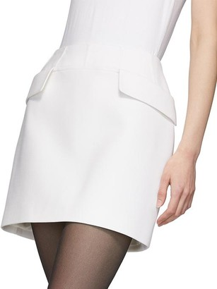 Thierry Mugler Pocket Mini Skirt