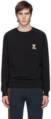 MAISON KITSUNÉ Black Smiley Fox Sweatshirt