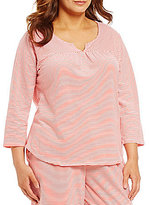 Sleep Sense Plus Striped Jersey Sleep Top