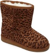 Dawgs Leopard Plush Boot