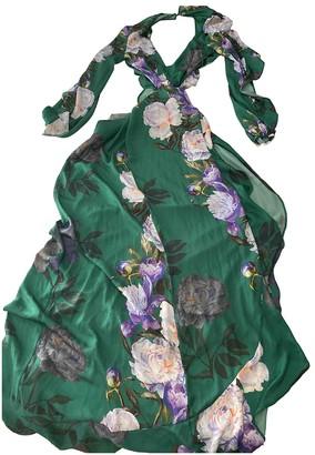 ASOS Green Silk Dress for Women
