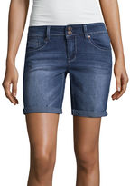 Hydraulic 7 Denim Bermuda Shorts-Juniors
