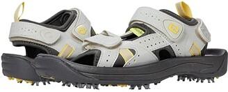 Foot Joy FootJoy Golf Sandal (All Over Cloud/Yellow Trim (Close-out)) Women's Sandals