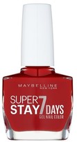 Maybelline Forever Strong Gel 06 Deep Red Nail Polish 10ml