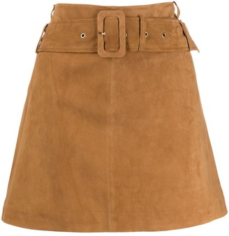 Arma Belted Mini Skirt