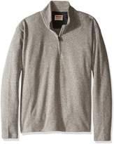 Wrangler Men's Big and Tall Sweater Fleece Quarter-Zip