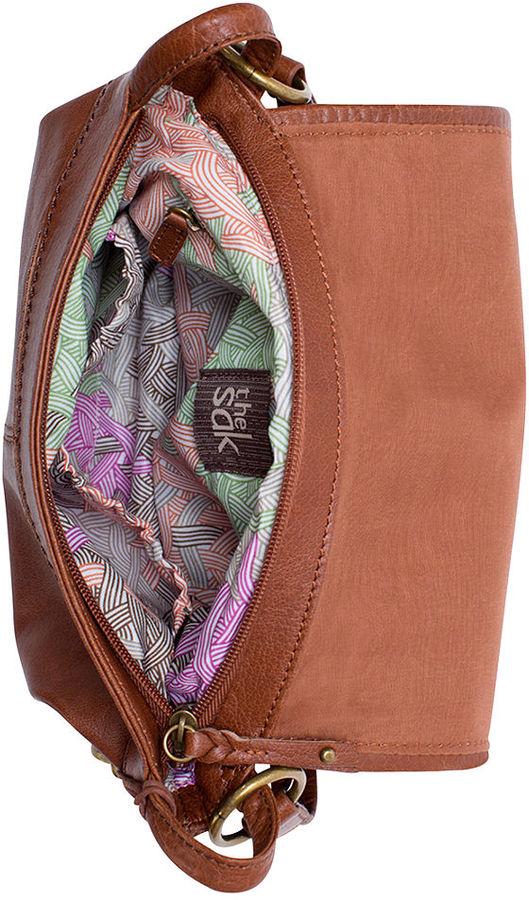 The Sak Silverlake Leather Mini Flap Shoulder Bag
