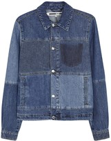 Mcq Alexander Mcqueen Oddity Patchwork Denim Jacket