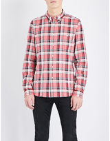 Ps By Paul Smith Checked Tailored-fit Cotton Shirt