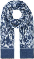 Monsoon Freddy Floral Blanket Scarf