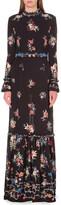 Vilshenko Sinead floral-print silk maxi dress