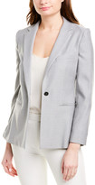 Max Mara Wool & Silk-Blend Jacket