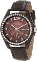 XOXO Women's XO3359 Rhinestones Accent Strap Watch
