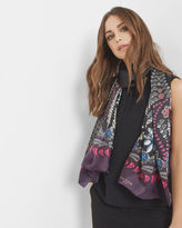 LAURIEE Treasured Trinkets silk scarf