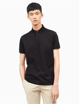 Calvin Klein Slim Fit Mercerized Jersey Polo Shirt