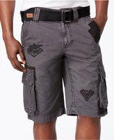 "Affliction Men's Cross of Iron Cargo 12 1/2"" Shorts"