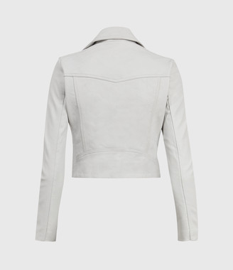 AllSaints Elora Leather Biker Jacket