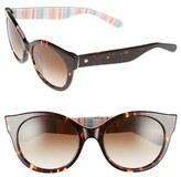Kate Spade Women's 'Melly' 53Mm Sunglasses - Havana