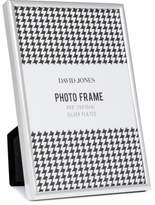 "David Jones Simple' Metal Photo Frame, 4 x 6""/ 10 x 15 cm"