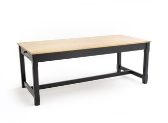 La Redoute Interieurs Perrine Farmhouse-Style Table, L200cm (Seats 6 to 8)
