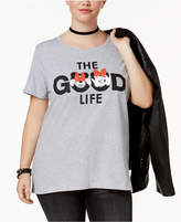 Hybrid Plus Size Minnie Mouse Good Life T-Shirt