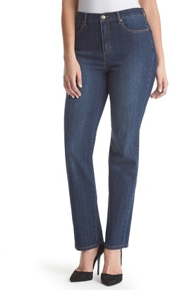Gloria Vanderbilt Women's Amanda Classic High-Waist Tapered Jeans