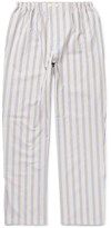 Schiesser Alfred Striped Cotton Pyjama Trousers