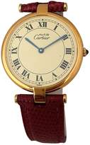 Cartier Must Vendôme ruby watch