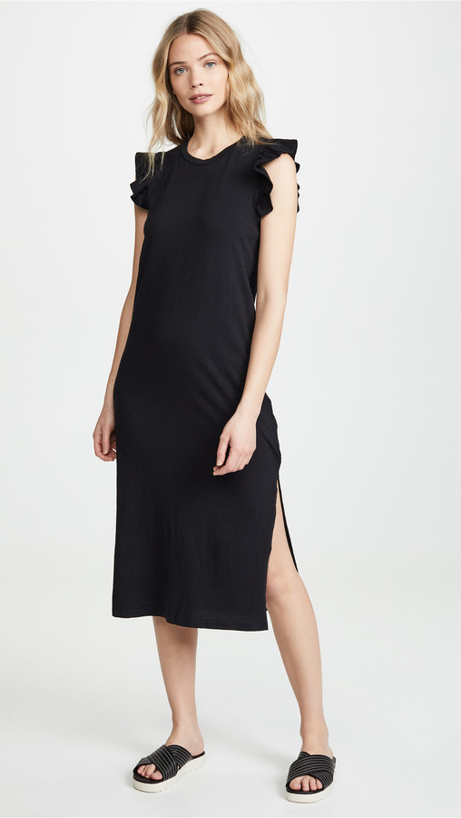 Thumbnail for your product : Sundry Ruffled Midi Dress