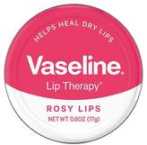 Vaseline Lip Therapy Rosy Lips Lip Balm Tin 0.6 oz