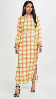 Veda Crane Crepe Dress