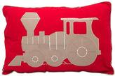 Maholi Steam Train Breakfast Cushion