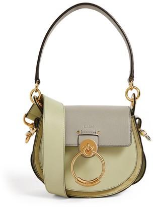 Chloé Small Leather Tess Shoulder Bag