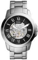 Fossil 'Grant' Automatic Bracelet Watch, 45mm