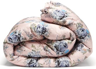 Preen by Thornton Bregazzi Large Floral-print Satin Eiderdown - Pink Print