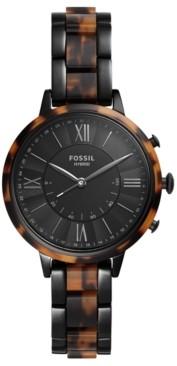 Fossil Q Women's Jacqueline Two-Tone Bracelet Hybrid Smart Watch 36mm