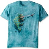 The Mountain 1540521 Climbing Chamelion Kids T Shirt, Medium