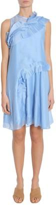 Carven Ruffled Mini Dress
