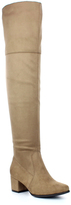 Refresh Taupe Becky Over-the-Knee Boot