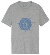 Original Penguin Men's Splatter Logo T-Shirt