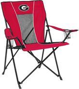 Logo brand Adult Logo Brand Georgia Bulldogs Game Time Portable Folding Chair