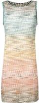 Missoni gradient effect zig zag dress
