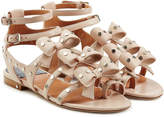 Laurence Dacade Embellished Leather Sandals