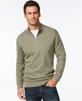 Tommy Bahama Flip Side Reversible Zip Neck Sweater