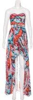 Aidan Mattox Sleeveless Maxi Dress
