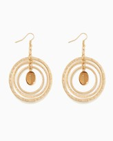 Charming charlie Multi-circle Drop Earrings