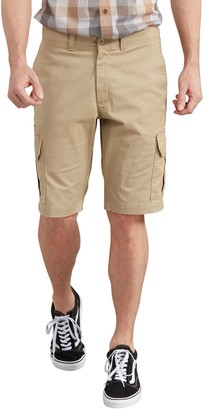 Dickies Men's 11-inch Active Waist Washed Cargo Shorts